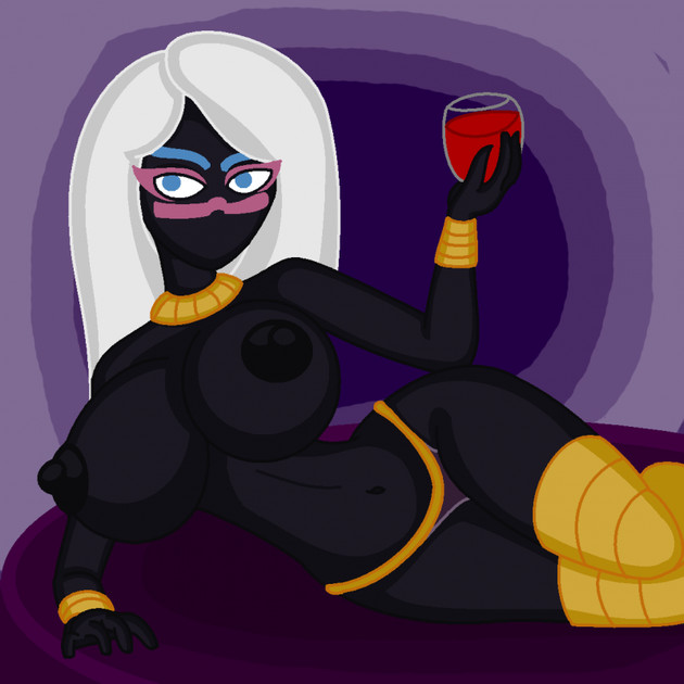 duck dodgers martian queen naked